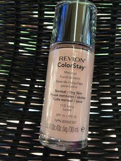 Confessions of a Beauty Addict: Review: Revlon Colorstay Foundation Normal/Dry Skin