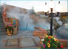 The natural hot springs pools in Pagosa Springs, Colorado. http://www.cheaperpricefind.com