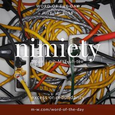 Nimiety is the . Vocabulary Building, Vocabulary Words, English Vocabulary, Unique Words, Beautiful Words, Cool Words, Foreign Words, Dictionary Definitions, Rare Words
