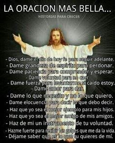 La oración más bella
