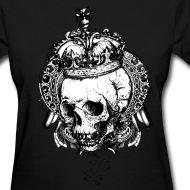 """Rocker Girl's T-shirt """"Death Queen""""   Rock Clothing Shop-- http://hardcandy.spreadshirt.com/"""
