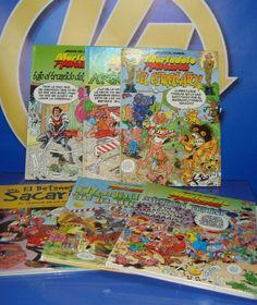 Lote de comics 6 tomos diferentes de mortadelo y brugera-buen estado