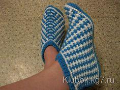 Носки от Натальи А.   Клубок Slippers, Crochet, Accessories, Shoes, Fashion, Moda, Zapatos, Shoes Outlet, Fashion Styles