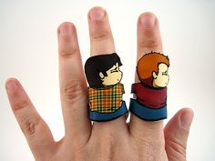 Sam Winchester Ring by otterling on Etsy, $15.00