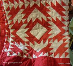 There has been a whole lot of quilting going on.