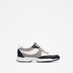 Image 1 of COMBINED MESH SNEAKERS from Zara