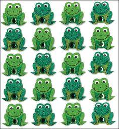 Amazon.com: Jolee's Boutique Dimensional Stickers, Frogs