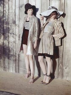 vogueweekend:  Monika Sawicka and Karlina Caune photographed by KT Auleta in Vogue Italia Suggestions May 2012