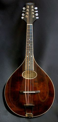 Maple Paul Shippey mandolin