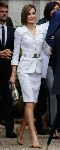 3 June 2015 - Queen Letizia at Paris City Hall, France. Click to read more >