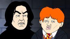 Wingardium Leviosa (Harry Potter Parody Animation) - Oney Cartoons