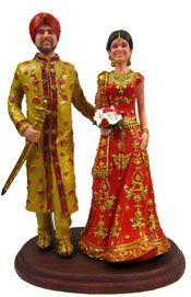 Indian Weddings Inspirations. Wedding Cake Toppers. Repinned by #indianweddingsmag indianweddingsmag.com