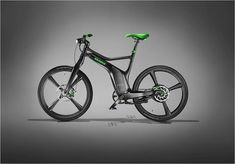 The battery-assisted bicycle of BRABUS