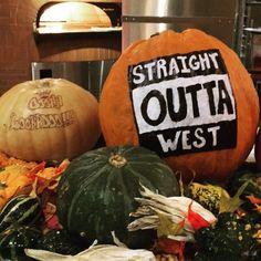 Halloween is coming sincerely BU West Campus Dining Hall || #BU #BostonUniversity #WestCampus #StraightOutta #StraightOuttaWest @budiningservice || by alekplay