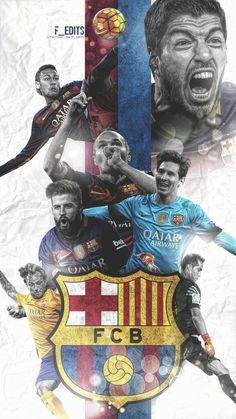 Barca is great! Barcelona Team, Barcelona Futbol Club, Football Art, Sport Football, Soccer Sports, Fc Barcelona Wallpapers, Lionel Messi Wallpapers, Messi And Neymar, European Soccer