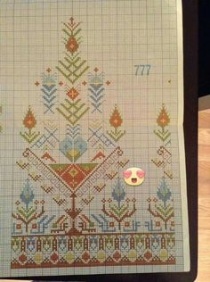 This Pin was discovered by Nur Palestinian Embroidery, Hungarian Embroidery, Bird Embroidery, Cross Stitch Embroidery, Embroidery Patterns, Machine Embroidery, Cross Stitch Boarders, Dmc Cross Stitch, Cross Stitch Flowers