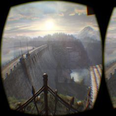 "An awesome Virtual Reality pic! Testing ""The Vanishing of Ethan Carter - Redux""... Stunning graphics. Looks awesome in VR. #oculus #rift #therift #steam #gaming #game #thevanishingofethancarter #pcgaming #virtualreality #dk2 #awesome #stunning #instagood #VR #ethancarter by lostinvr check us out: http://bit.ly/1KyLetq"