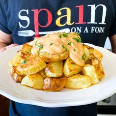 Patatas Bravas that will Transport you to Spain | Easy & Healthy Recipe