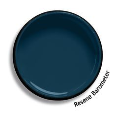 Resene Barometer is a solemn deep blue, rising to teal and falling to Prussian blue, atmospheric and mercurial. Try Resene Barometer with pale grey greens, diffused off-whites and taupe browns. Exterior Colors, Exterior Paint, Interior Paint Colors, Paint Colours, Wall Colors, Interior Design, Teal Walls, Teal Hallway Paint, Resene Colours