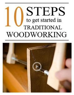 10 Steps to Getting Started in Traditional Woodworking with Hand Tools | Wood and Shop