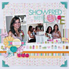 Showered with Love by Jenny Evans - Scrapbook.com