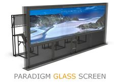 Paradigm AV launches the Paradigm Glass Screen, an ultra wide rear projection glass screen