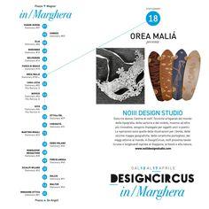 NOIII DESIGN STUDIO / Stationary 18 + 31 Sono tre donne, l'anima di noIII. Tecniche artigianali del mondo della tipografia, della sartoria e del mobile, insieme ad altre più innovative, vengono impiegate per oggetti unici e poetici. Le ispirazioni sono quelle delle illustrazioni per i bimbi, delle vecchie mappe geografiche, delle ceramiche portoghesi, dei viaggi attorno al mondo. A DesignCircus, noIII presenta tavole (cruise e longboard) ispirate al Giappone, ai fossili e alla natura.