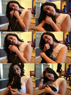 Lauren Jauregui & a puppy