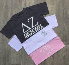 Gamma Phi Beta, Kappa Delta, Theta, Sigma Tau, Delta Zeta Shirts, Sorority Shirts, Vinyl Designs, Shirt Designs, Big Little Reveal