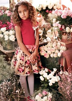 ALALOSHA: VOGUE ENFANTS: Monnalisa kids FW2012