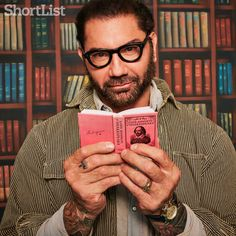 Dave Bautista: The thinking man's monster Hot Men, Hot Guys, Dave Bautista, Guys Read, Wwe Champions, My Friend, Friends, Marvel, Comic Movies