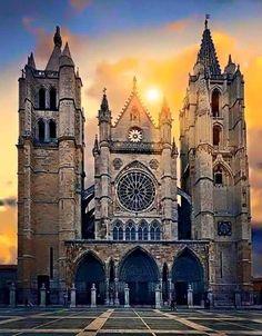 Catedral Santa María, León