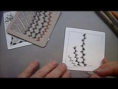 Rain Tangle Pattern Lesson # 46 - YouTube