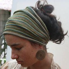 Olive Green Head Wrap Dread Wrap by colourbazaar on Etsy - Stylehive