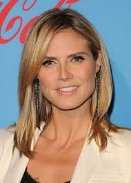 heidi klum long bob - Google Search