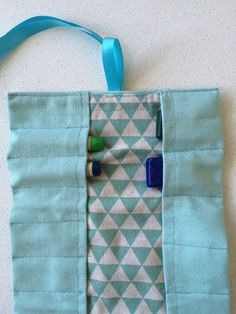 Waldorf Crayon Holder Etui Pouch for Lyra and by UrbanWaldorf