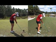 LYDIA KO - HANDS AT IMPACT (CLOSE UP SLOW MOTION) DRIVER SWING CME CHAMPIONSHIP TIBURON GO - YouTube