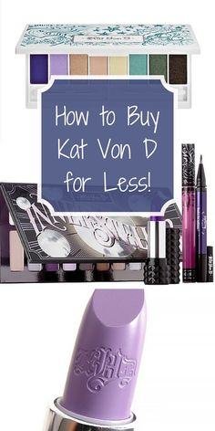 Obsessed with Kat Von D Cosmetics, but on a budget? Now you can shop guilt free with discounts up to 70% off retail! Find lipsticks, eye shadows, contour palettes, and more at unbelievable prices. Tap to download the free app, and start saving now!