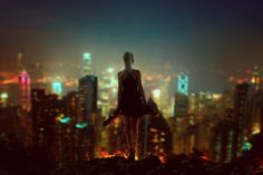 Citylights by BaxiaArt (print image)