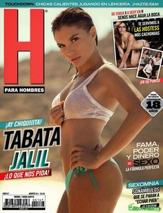 Tabata Jalil Revista H Agosto 2011 [PDF Digital] | FamosasMex