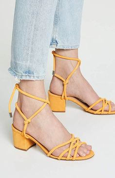 Chic Schutz Marcella Strappy Sandals Womens Fashion Shoes from top store Faded Jeans, Black Booties, Strappy Sandals, Summer Shoes, Summer Outfit, White Sneakers, Chunky Heels, Fun Workouts, Block Heels
