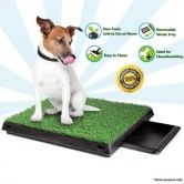 Plastic - Get your Large Indoor Pet Toilet at CrazySales.com.au - This Large Indoor Pet Toilet is the perfect pet product for your dog.