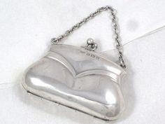 coin purse, silver