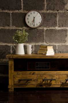 CDI Furniture's signiture Country collection is the perfect balance of rustic and industrial.