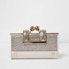 50e17d64cf3 Designer Clothes, Shoes   Bags for Women   SSENSE. Glitter PurseGold GlitterRiver  Island ...
