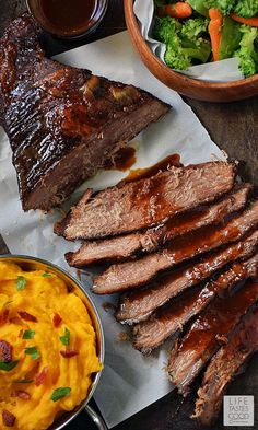 Beer Braised Beef Brisket | by Life Tastes Good is cooked low and slow ...
