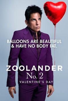 非常索凸務2/名模大間諜2(Zoolander 2)poster