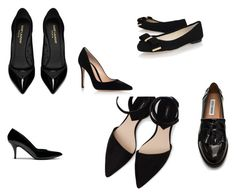 """""""shoes"""" by mechefbu on Polyvore featuring moda, Yves Saint Laurent, Gianvito Rossi, MANGO, Mulberry, MICHAEL Michael Kors y Steve Madden"""