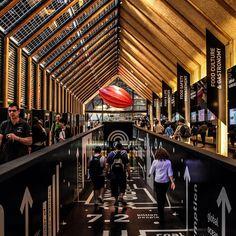 Una prospettiva dell'interno del Padiglione Belgio! Voi lo avete già visitato? A perspective of the inside of Belgium Pavilion! Have you already visited it?