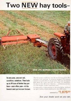IH 816 Mower-Conditioner Ad